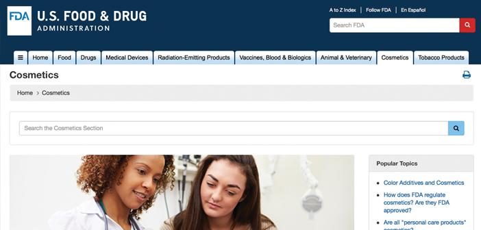미국 화장품시장 정복 첫 단추, FDA