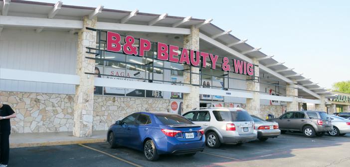 청결과 코너별 특징을 잘 살린 진열이 성공의 비결 'B&P Beauty & Wig'